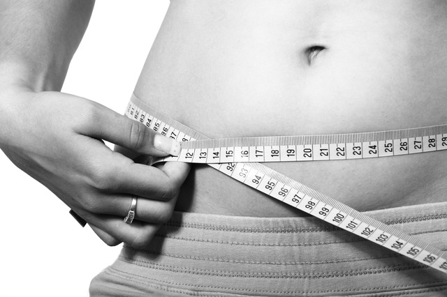 břicho, metr, hubnutí