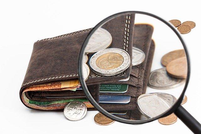 zvětšená peněženka